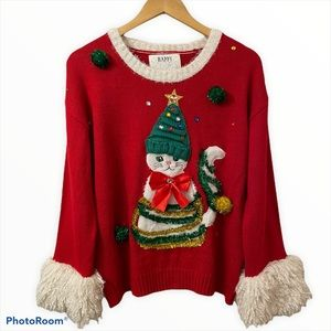 URBAN HERITAGE festive Christmas holiday sweater